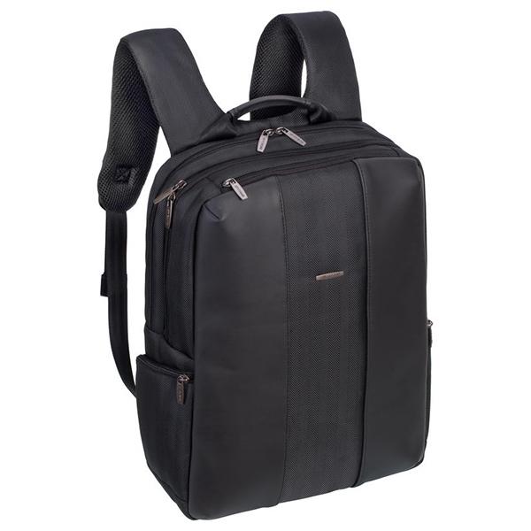 "Rucsac laptop RIVACASE 8165, 15.6"", poliuretan, negru"