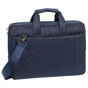"""Geanta laptop RIVACASE 8221, 13.3"""", poliester, albastru"""