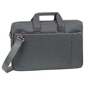 "Geanta laptop RIVACASE 8251, 17.3"", poliester, gri"