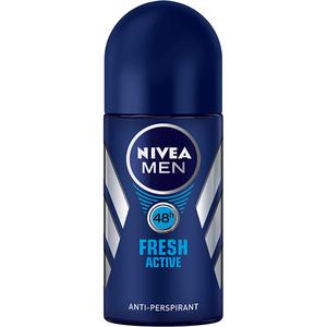 Deodorant roll-on antiperspirant NIVEA Men Fresh Active, 50 ml