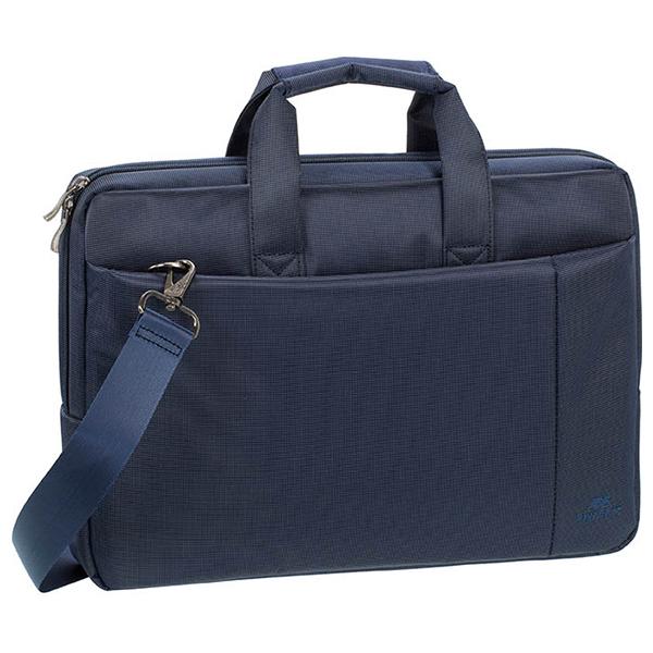 """Geanta laptop RIVACSAE 8231, 15.6"""", poliester, albastru"""