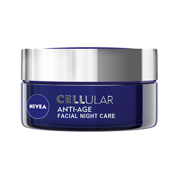 Crema antirid de noapte NIVEA Cellular Anti-Age, 50ml
