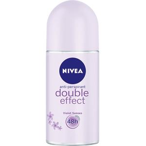 Deodorant roll-on antiperspirant NIVEA Double Effect, pentru femei, 50 ml