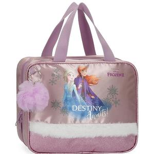 Geanta pentru cosmetice adaptabila DISNEY Frozen Destiny Awaits 25545.61, mov