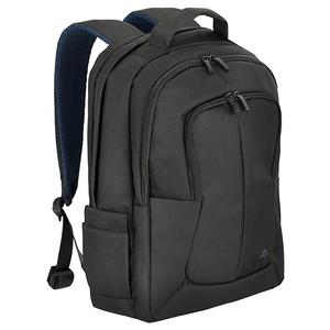 "Rucsac laptop RIVACASE 8460, 17.3"", poliester, negru"