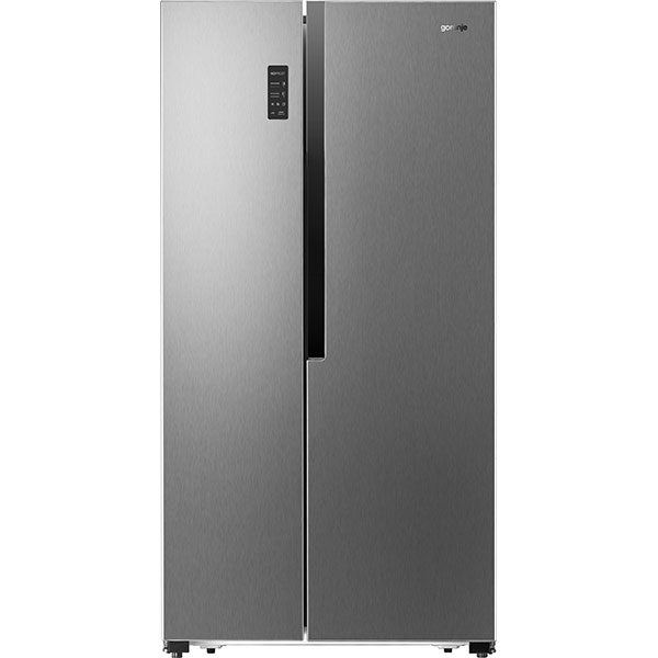Side-by-Side GORENJE NRS9181MX, 516 l, 179 cm, A+, argintiu