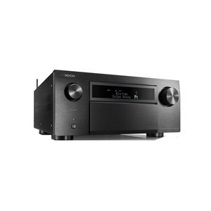 Receiver DENON AVCX8500HBKE2, Dolby Atmos, Wi-Fi, Bluetooth, negru