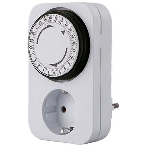 Timer mecanic BACHMANN 852.101, Schuko, alb