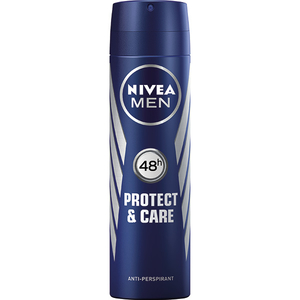 Deodorant spray antiperspirant NIVEA Men Protect & Care, pentru barbati, 150ml