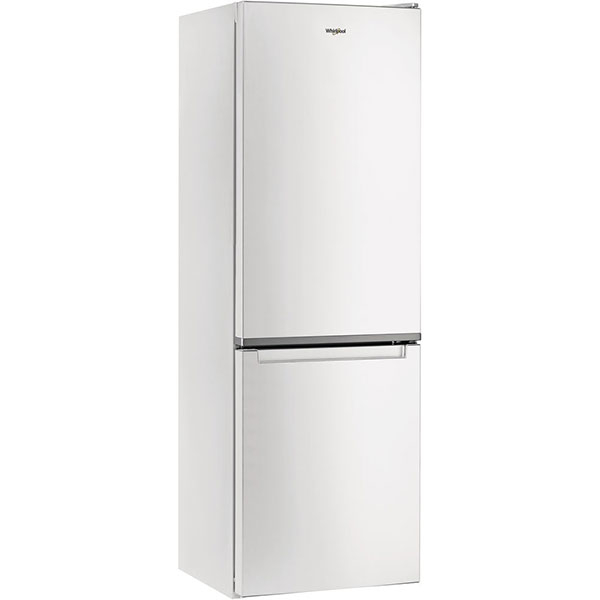 Combina frigorifica WHIRLPOOL W7 811I W, Total NoFrost, 338 l, H 189 cm, Clasa A+, 6th Sense, alb