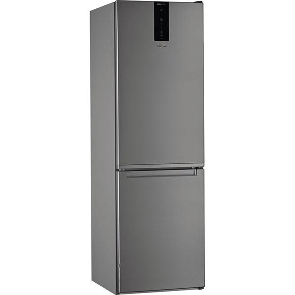 Combina frigorifica WHIRLPOOL W7 811O OX, Total No Frost, 338 l, H 189 cm, Clasa A+, 6th Sense, inox