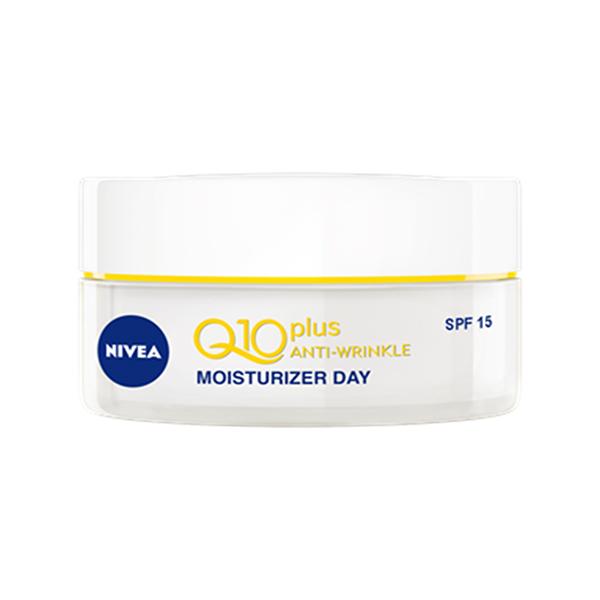 Crema antirid de zi NIVEA Q10 Plus, SPF 15, 50ml