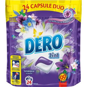 Detergent capsule DERO Lavanda, 24 capsule