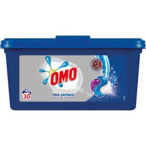 Detergent capsule OMO Ultimate ActiveClean, 30 capsule