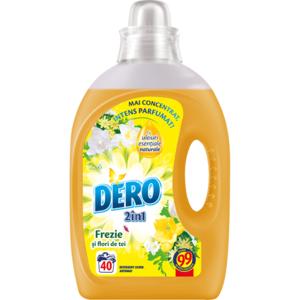 Detergent lichid DERO Frezie, 2l, 40 spalari