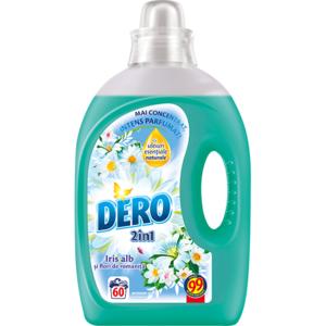 Detergent lichid DERO Iris Alb, 3l, 60 spalari