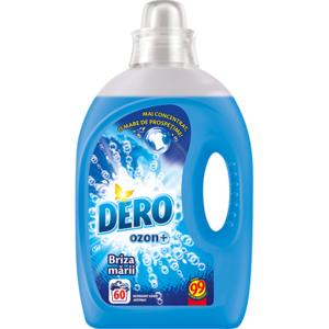 Detergent lichid DERO Ozon+Briza marii, 3l, 60 spalari