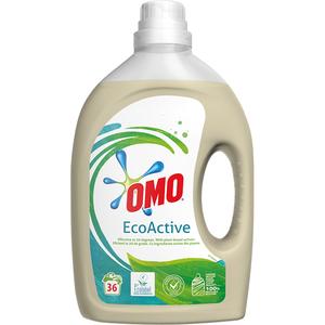 Detergent lichid OMO Ecoactive, 1.98l, 36 spalari