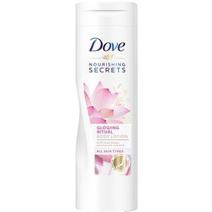 Lotiune de corp DOVE Nourishing Secrets Glowing, cu floare de Lotus, 250ml
