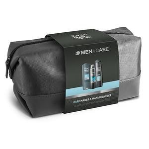 Set cadou DOVE Men+Care: Gel de dus, 250ml + Sampon, 250ml + Deodorant spray, 150ml