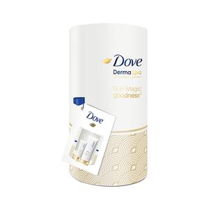 Set cadou DOVE Derma Spa Goodness: Lotiune de corp, 200ml + Crema de maini, 75ml