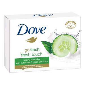 Pachet DOVE Go Fresh Touch: Sapun, 4 x 100g