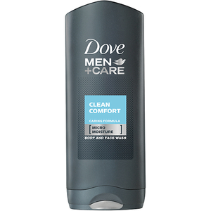 Gel de dus 2 in 1 DOVE Care Clean Comfort, 400ml