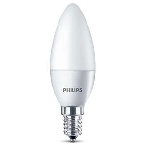 Set 2 becuri LED PHILIPS 8718696485460, 5.5W, E14, 2700K, alb cald