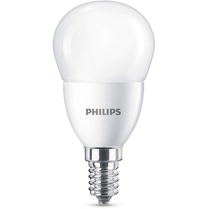 Bec LED PHILIPS P45, 7W (60W), E14, Lumina Rece