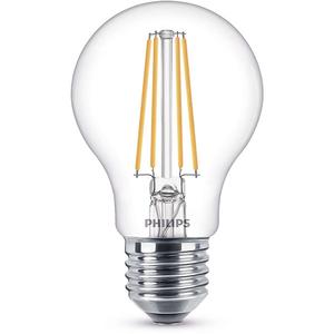 Bec LED PHILIPS FILAMENT A60, 7W (60W), E27, Lumina Calda