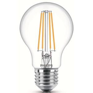 Bec LED PHILIPS FILAMENT A60, 7W (60W), E27, Lumina Rece