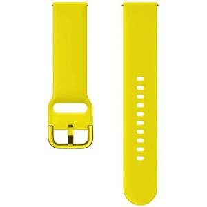 Bratara pentru SAMSUNG Galaxy Watch Active, ETSFR50MYEGWW, silicon, galben