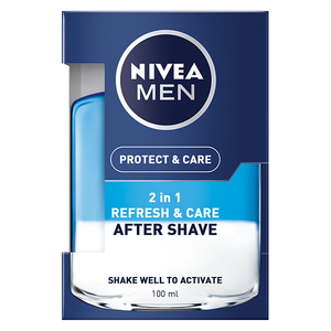 After Shave bifazic cu vitamina E NIVEA Men Protect&Care, 100ml