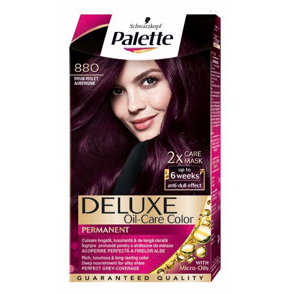 Vopsea De Par Pelette Deluxe 880 Brun Violet 115ml