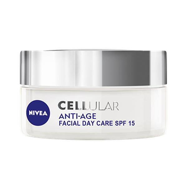 Crema antirid de zi NIVEA Cellular Anti-Age, SPF 15, 50ml