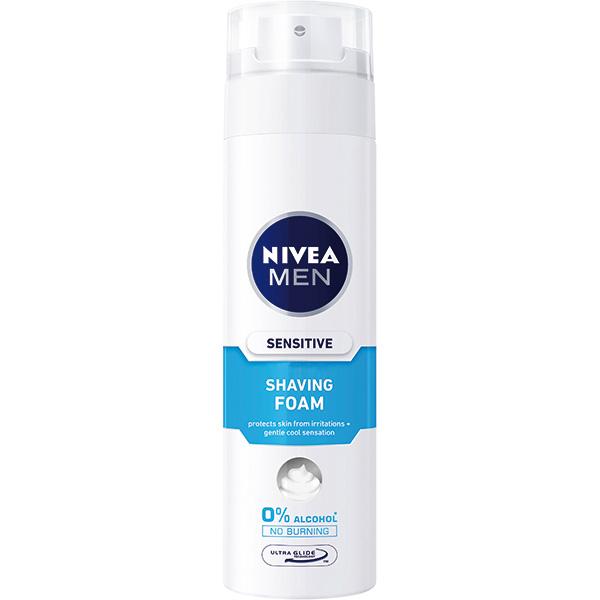 Spuma de ras NIVEA Men Sensitive Cooling, 200ml