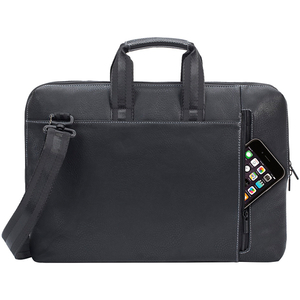 """Geanta laptop RIVACASE 8931, 15.6"""", poliuretan, negru"""