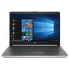 """Laptop HP 14-dk0000nq, AMD Ryzen 5-3500U pana la 3.7GHz, 14"""" Full HD, 8GB, SSD 512GB, AMD Radeon Vega 8, Windows 10 Home, argintiu"""