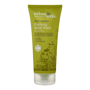 Gel de dus URBAN VEDA Purifying, cu ulei de Neem, 200ml