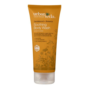 Gel de dus URBAN VEDA Soothing, cu extract de lemn de Santal, 200ml