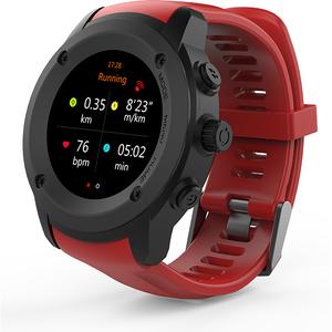 Smartwatch MYRIA Casual MY9504, Android/iOS, Rosu