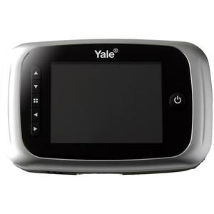 "Vizor electronic YALE DDV5500, LCD 3.5"", 4 x AA, argintiu"
