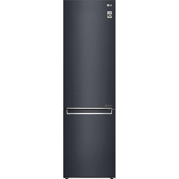 Combina frigorifica LG GBB72MCEFN, No Frost, 384 l, H 203 cm, Clasa A+++,Smart Diagnosis, Wi-Fi, negru