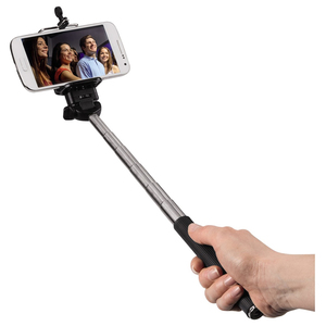 Selfie stick HAMA 4281 Moments 100, Bluetooth, negru