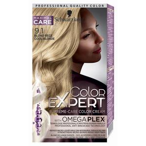 Vopsea de par Schwarzkopf Color Expert, 9-1 Blond Rece, 147 ml