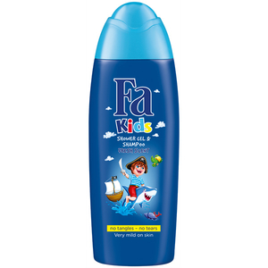 Gel de dus 2 in 1 FA Kids Pirate, 250ml