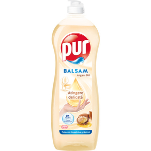 Detergent de vase PUR Balsam Argan Oil, 750 ml