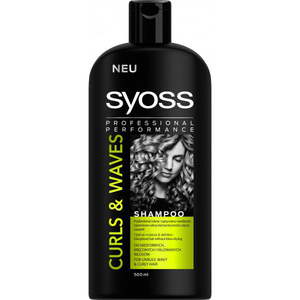 Sampon SYOSS Curls & Waves, 500 ml