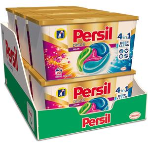 Detergent capsule PERSIL Discs Color Box , 6 x 22 spalari