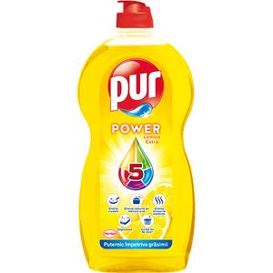 Detergent de vase PUR Power Lemon, 1350 ml